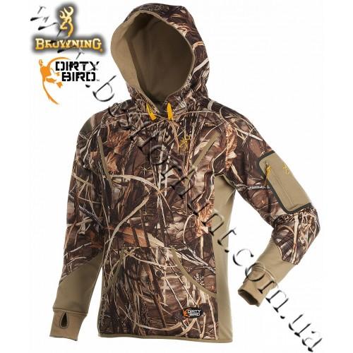 Browning® Dirty Bird™ Smoothbore Fleece Hoodie Realtree MAX-4®