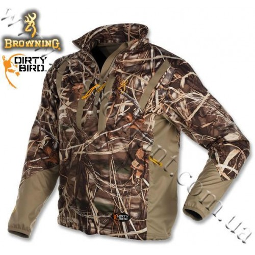 Browning® Dirty Bird™ Soft Shell Pullover Realtree MAX-4®