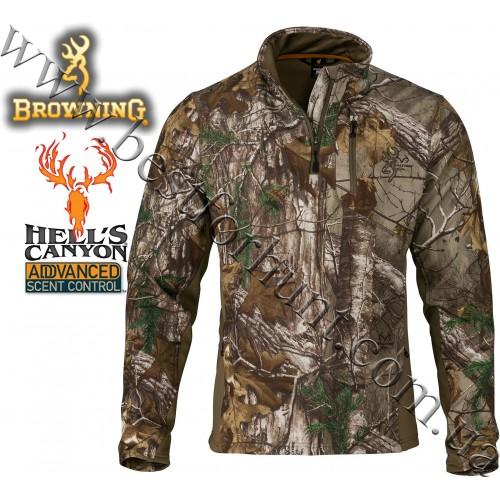 Browning® Hell's Canyon™ Ajax 1/4 Zip Pullover Realtree Xtra®