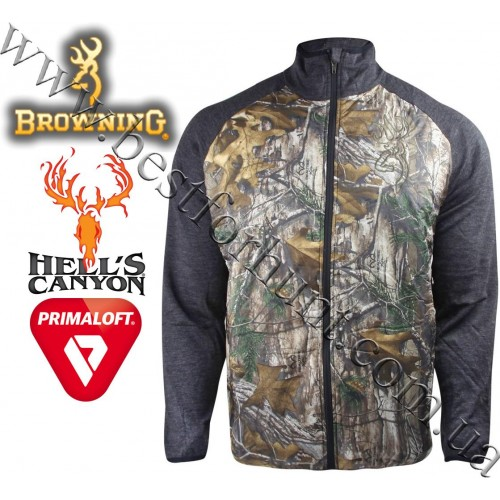 Browning® Hell's Canyon™ Approach Full Zip Hybrid Jacket Realtree Xtra®