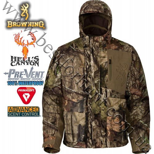 Browning® Hell's Canyon™ BTU PrimaLoft® Insulated Parka Mossy Oak® Break-Up® COUNTRY™