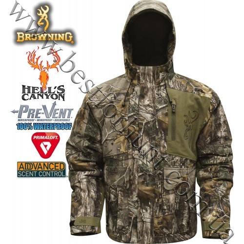 Browning® Hell's Canyon™ BTU PrimaLoft® Insulated Parka Realtree Xtra®