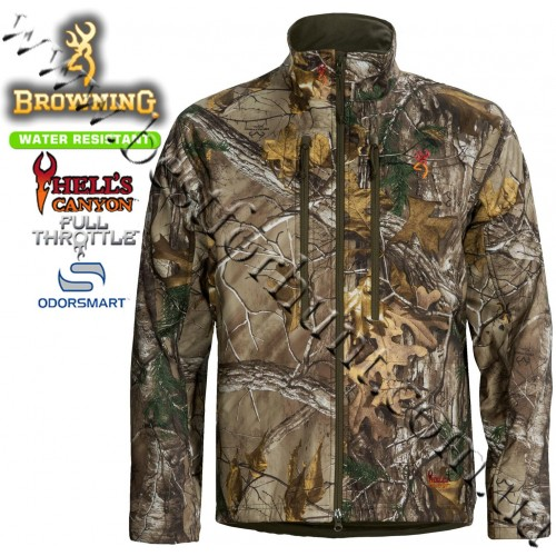 Browning® Hell's Canyon™ Full Throttle™ Hunting Jacket Realtree Xtra®