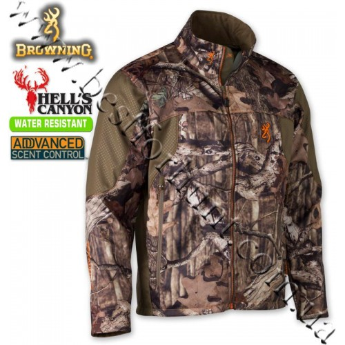 Browning® Hell's Canyon™ Ultra-Lite Hunting Jacket Mossy Oak® Break-Up® Infinity™
