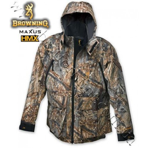 Browning® Maxus™ HMX™ Waterfowl Waterproof Jacket Mossy Oak® Duck Blind®