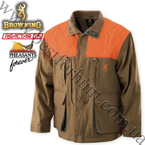 Browning® Pheasants Forever® Upland Jacket Field Tan