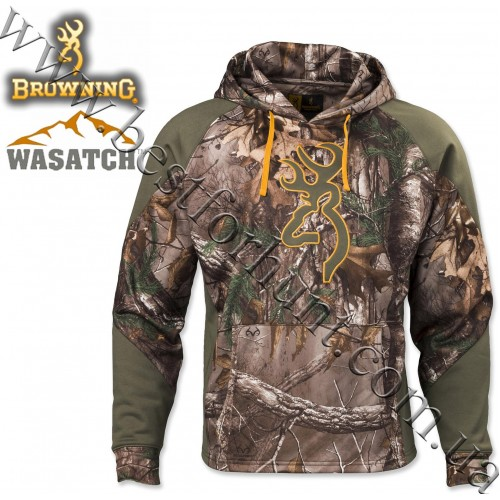 Browning® Wasatch™ 2-Tone II Hoodie Realtree Xtra®