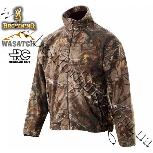 Browning® Wasatch™ Fleece Jacket Realtree Xtra®