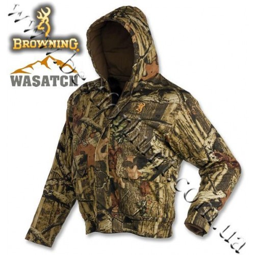 Browning® Wasatch™ Insulated Hooded Jacket Mossy Oak® Break-Up® Infinity™