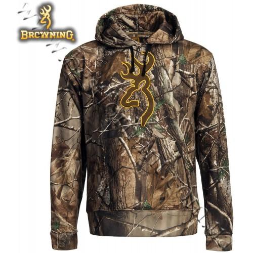 Browning® Wasatch™ Performance Hoodie Sweatshirt Realtree AP®