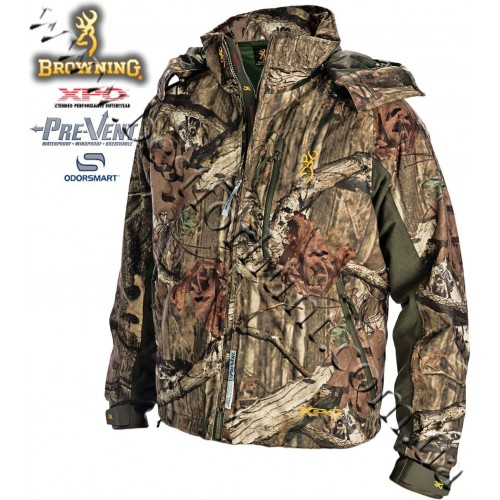 Browning® XPO™ Big Game Pre-Vent® Waterproof Insulated Jacket Mossy Oak® Break-Up® Infinity™