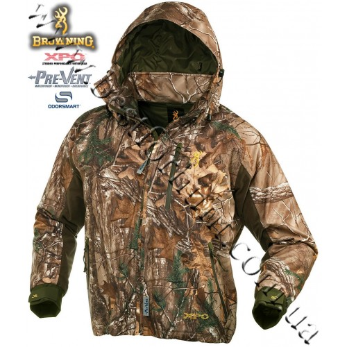 Browning® XPO™ Big Game Pre-Vent® Waterproof Insulated Jacket Realtree Xtra®