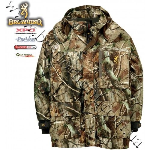 Browning® XPO™ Big Game Pre-Vent® Waterproof Insulated Parka Realtree AP®