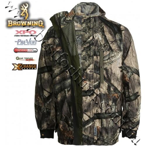 Browning® XPO™ Big Game™ Pre-Vent® Waterproof X-Change™ Jacket with Genesis Fleece™ Jacket Mossy Oak® Treestand®