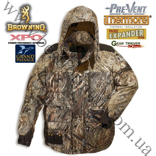 Browning® XPO™ Grand Passage™ Insulated Parka Mossy Oak® Duck Blind®
