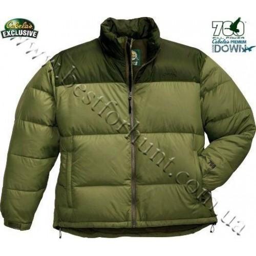 Cabela's 700 Down Fairbanks Jacket Olive