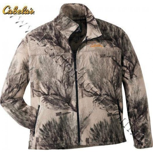 Cabela's Base Camp Fleece Jacket Seclusion 3D® Open Country®