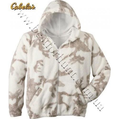 Cabela's Outfitter's Fleece Winter Hooded Jacket