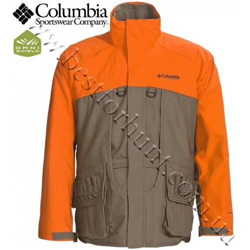 Columbia® Ptarmigan™ II Upland 3-in-1 Insulated Parka Tan/Blaze