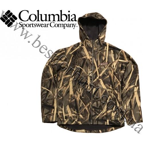 Columbia Sportswear® Fleece Lined Hooded Hunting Jacket Delta Hunter Marsh™