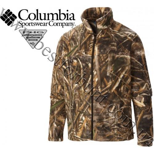 Columbia Sportswear® PHG™ Flanker™ Full Zip Fleece Jacket Realtree MAX-5®