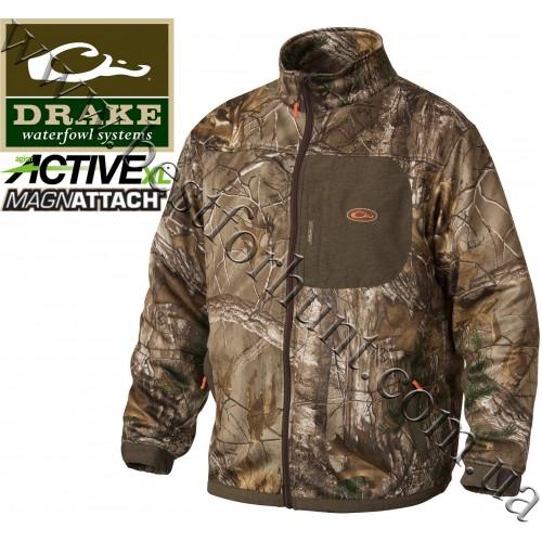 Drake Waterfowl® Endurance Full Zip Jacket with Agion Active XL™ Realtree Xtra®