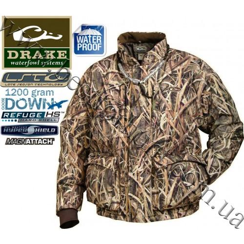 Drake Waterfowl LST Down Coat Mossy Oak® Shadow Grass® Blades™