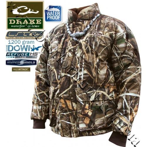 Drake Waterfowl LST Down Coat Realtree MAX-4®
