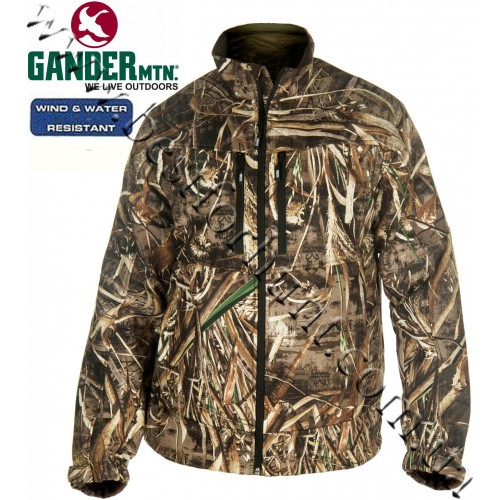 Gander Mountain® Guide Series™ Midweight SoftShell Ultra-Form Jacket Realtree MAX-5®
