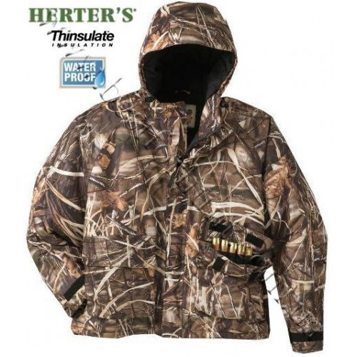 Herter's® FowlTech™ Insulated Wading Jacket Realtree MAX-4®