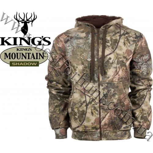 King's Camo® Classic Cotton Thermal Zip Hoodie King's Camo® Mountain Shadow®