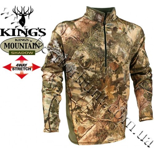 King's® KC1 1/4 Zip Hunting Pullover King's® Mountain Shadow®