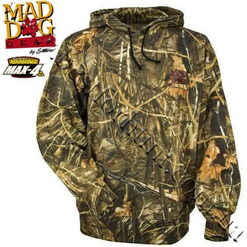 MadDog® by Stearns Dead Silent™ Plus Fleece Hoodie Realtree MAX-4®