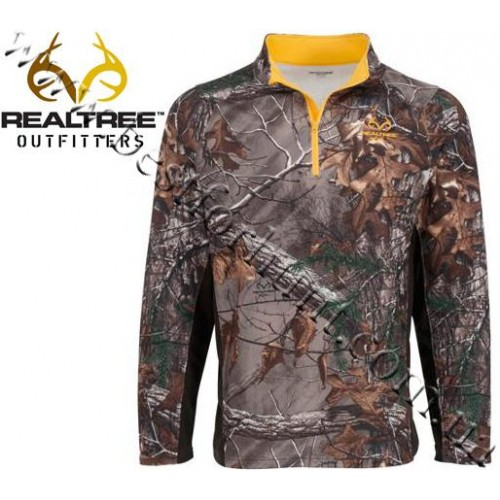 Realtree Outfitters® Performance Long-Sleeve Quarter-Zip Microfleece Pullover Realtree Xtra®