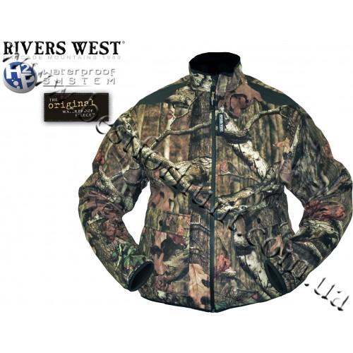 Rivers West® Frontier™ Midweight Waterproof Fleece Jacket Mossy Oak® Break-Up® Infinity™