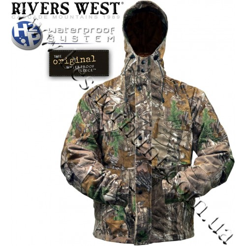 Rivers West® Pioneer™ Lightweight Waterproof Fleece Jacket Realtree Xtra®