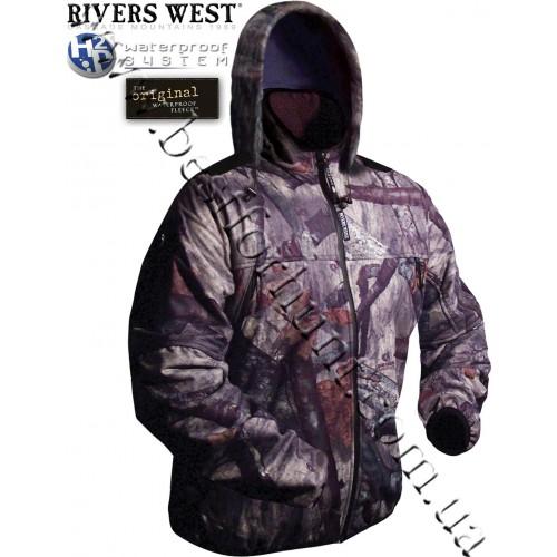 Rivers West® Spider™ Hooded Waterproof Fleece Jacket Mossy Oak® Treestand®