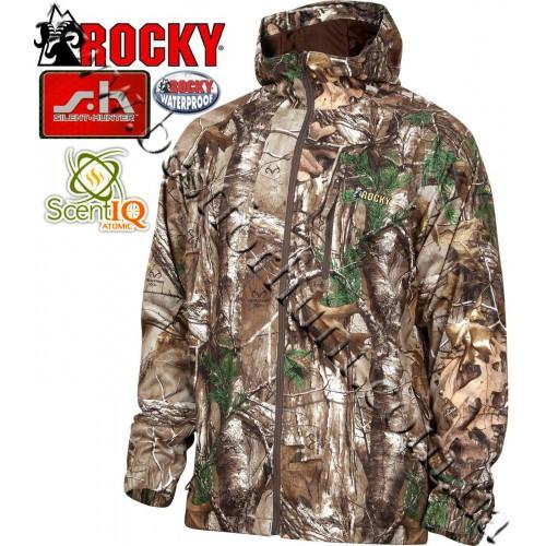 Rocky® SilentHunter™ Rain Jacket Realtree Xtra®