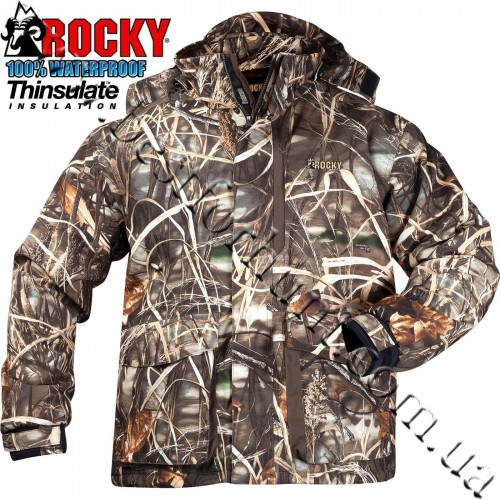Rocky® Waterfowl Waterproof Insulated Jacket 600696 Realtree MAX-4®