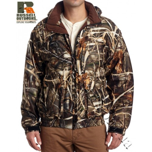 Russell Outdoors Drystalker 4-in-1 Wader Jacket Realtree MAX-4®