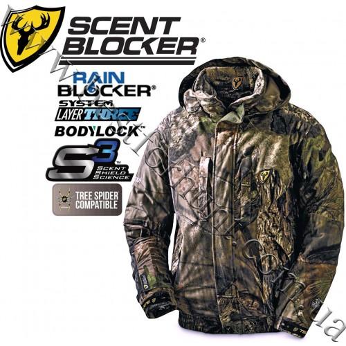 ScentBlocker® Outfitter™ S3™ RainBlocker® 4-in-1 Jacket Mossy Oak® Break-Up® COUNTRY™