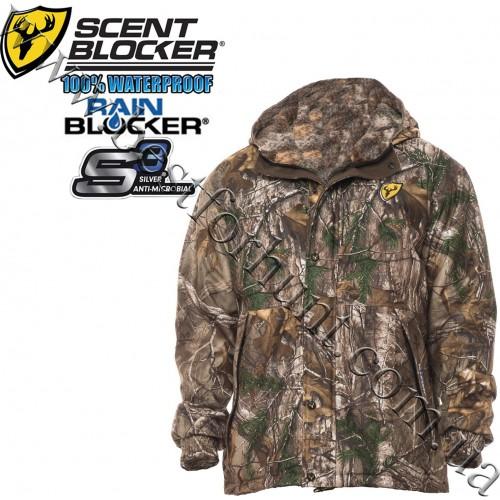 ScentBlocker® Switchback Waterproof Reversible Hunting Jacket Realtree Xtra®