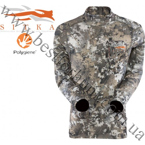 Sitka™ Core Midweight Mock Tee GORE™ OPTIFADE™ Concealment Elevated II