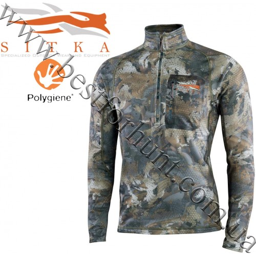 Sitka™ Core Midweight Zip Top GORE™ OPTIFADE™ Concealment Waterfowl Timber