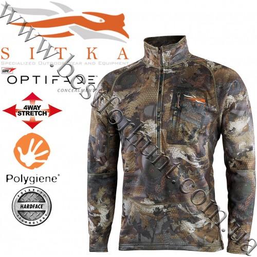 Sitka® Gear Grinder Half-Zip GORE™ OPTIFADE™ Concealment Waterfowl Timber