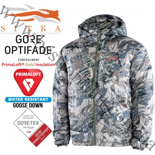 Sitka™ Gear Kelvin Down WS Hoody GORE™ OPTIFADE™ Concealment in Open Country
