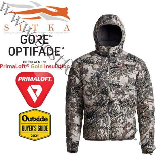 Sitka™ Gear Kelvin Lite Down Jacket GORE™ OPTIFADE™ Concealment in Open Country
