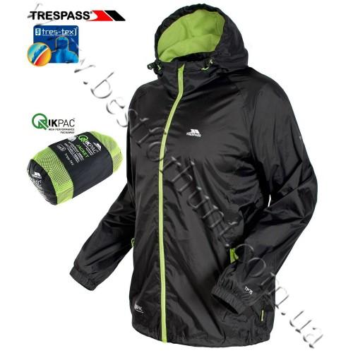 Trespass® Qikpack Waterproof Jacket Black