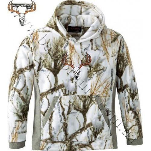True Timber® Fleece Hoodie True Timber® MC2 Snow Camo