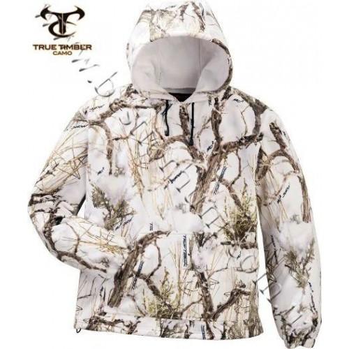 True Timber® Windproof Fleece Hoodie True Timber® MC2 Snow Camo